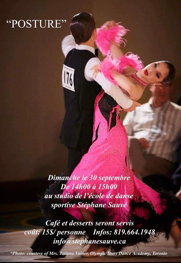 Cours de Danse Stéphane Sauvé