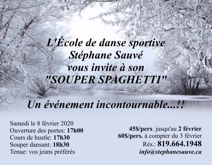 Souper spaghetti Stéphane Sauvé